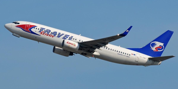 Travel Service B737-800 (OM-TVA)
