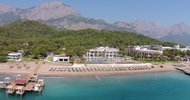 letecký pohľad na hotel Sherwood Exclusive Kemer